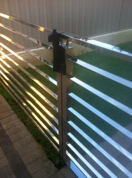 Square Design Fence