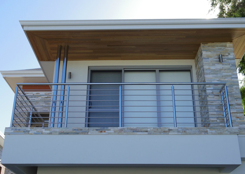 Stainless Balustrade and Columns Dianella