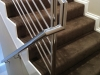 Handrail on to Balustrade
